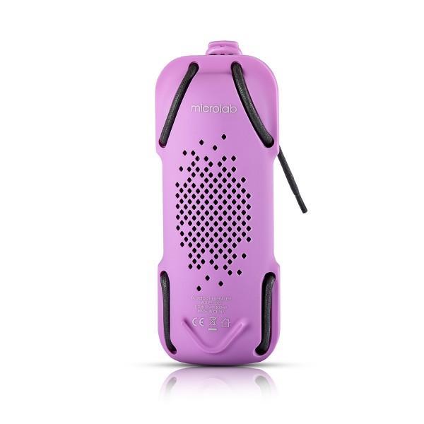 Zvučnik Microlab D22 Bluetooth rubber ljubičasti