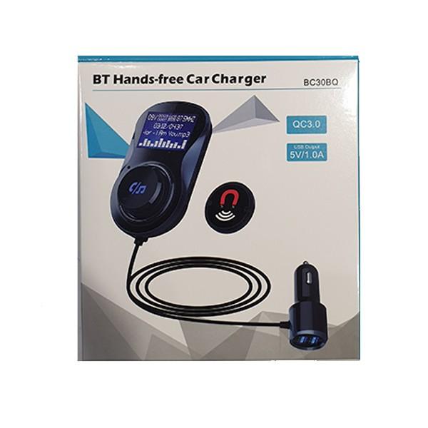 Punjač za auto Sailing BC30BQ+FM transmiter