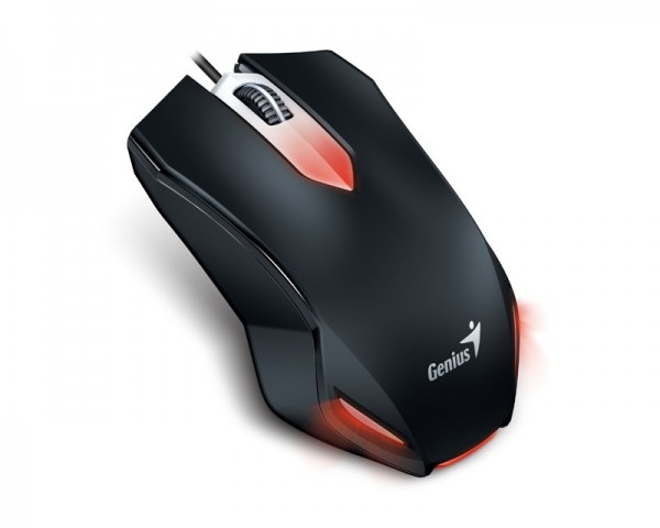 GENIUS X-G200 USB Optical Gaming crni
