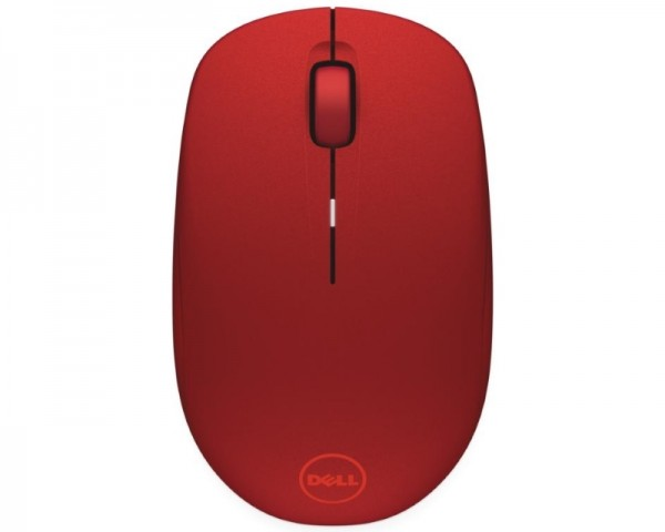 DELL WM126 Wireless Optical crveni miš