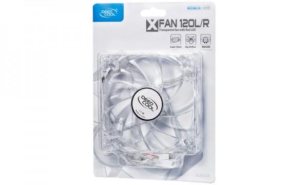 Kuler za kućište DeepCool XFAN 120L/R RED