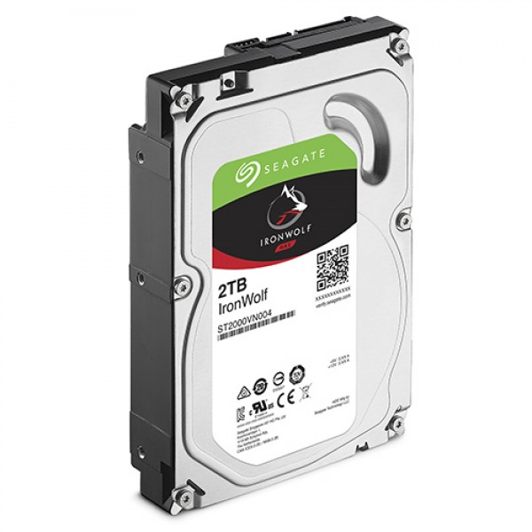 HDD Seagate 2TB Iron Wolf  Guardian ST2000VN004