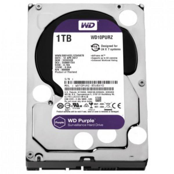 HDD WD 1TB 64MB WD10PURZ