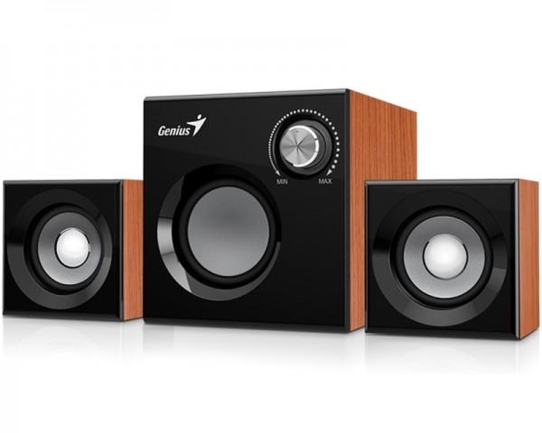GENIUS SW-2.1 370 2.1 Wood braon zvučnici