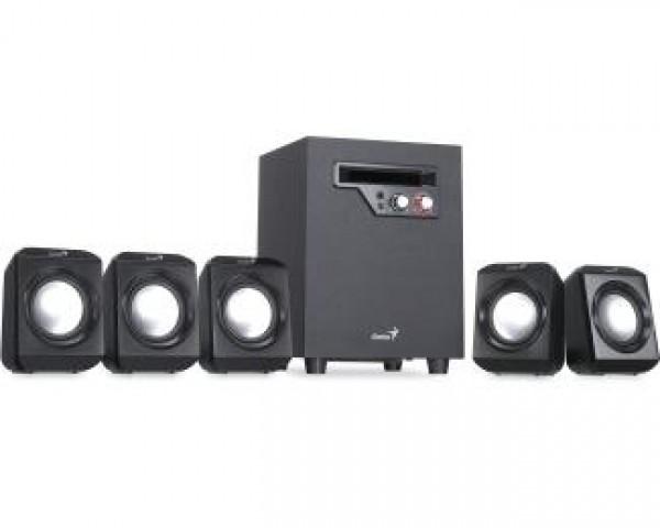 GENIUS SW-5.1 1020 v2 crni zvučnici