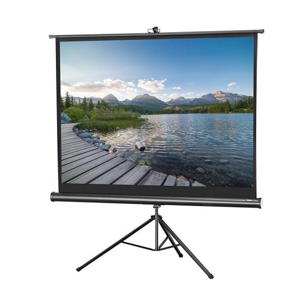 Platno za projektor LEXIN TD8484M tripod 213x213 1:1