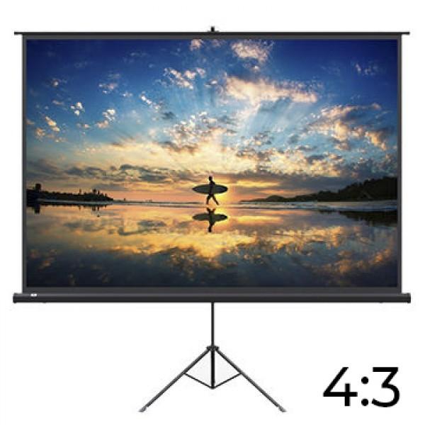 Platno za projektor LEXIN TD100VM tripod 204x153 4:3