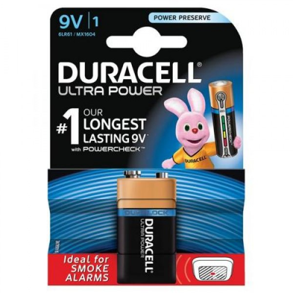 Baterije Duracell 9V/1 MX1604