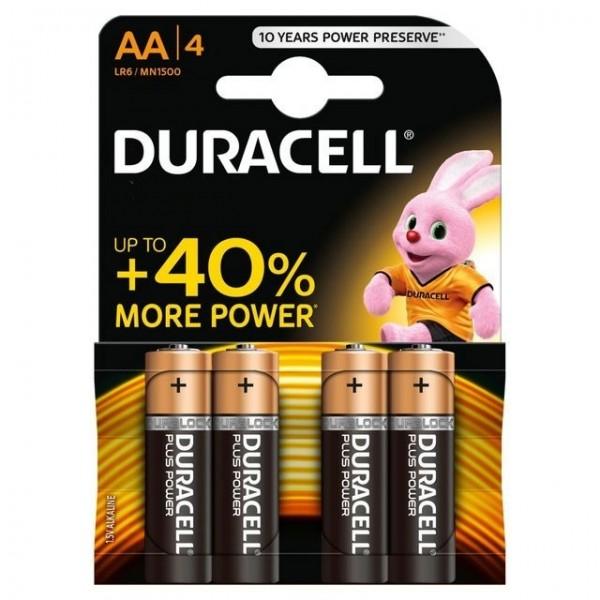 Baterije Duracell AA/4 MN1500