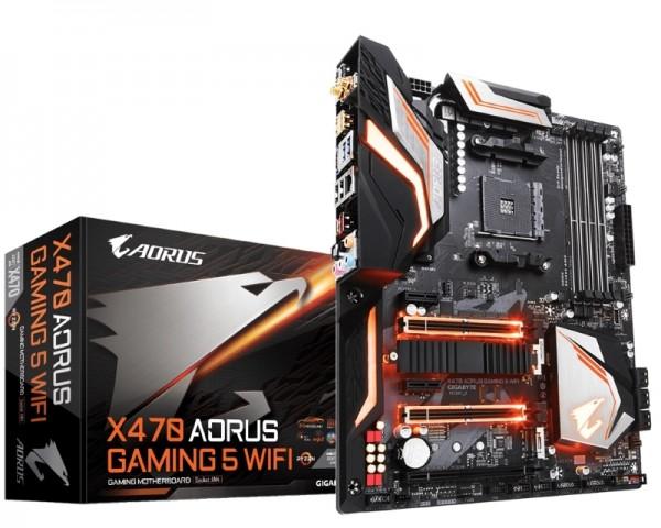 GIGABYTE X470 AORUS Gaming 5 Wifi rev.1.0