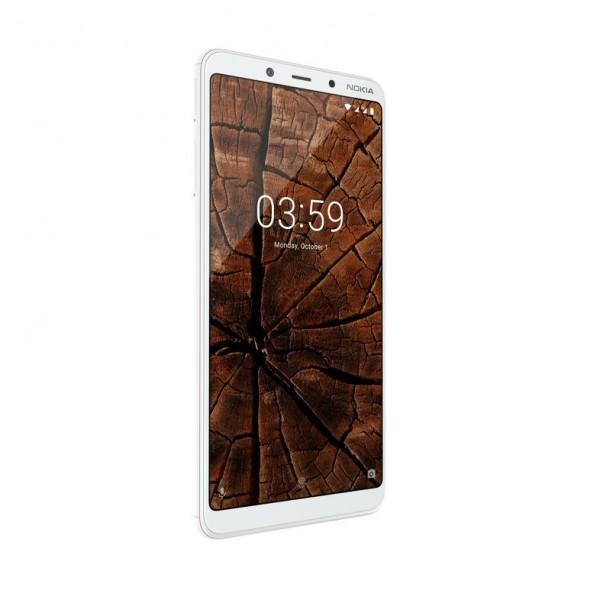 Nokia 3.1 Plus DS White Dual Sim' ( '11ROOW01A02' )
