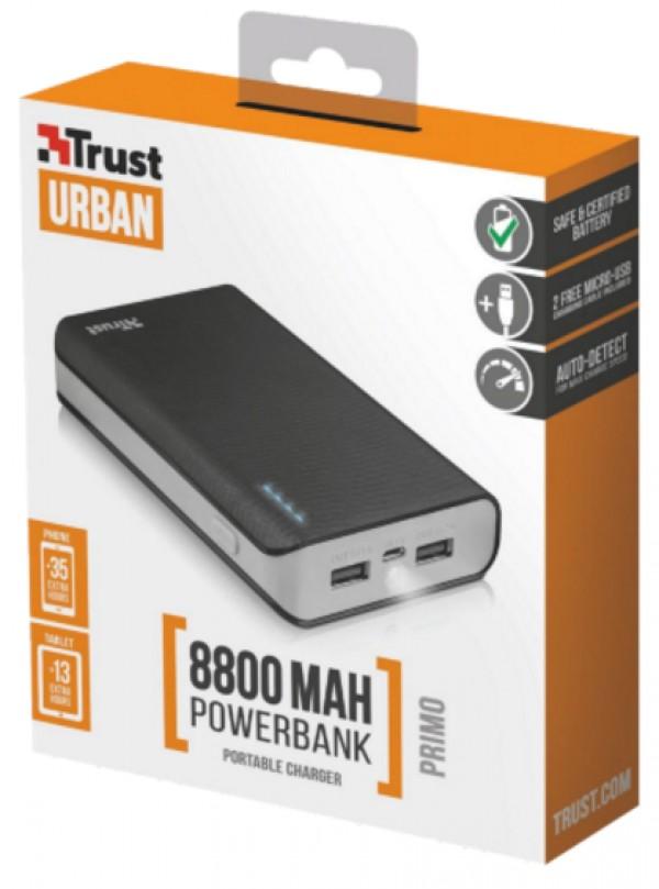 Trust Primo PowerBank 8800 prenosivi punjac crni' ( '21227' )