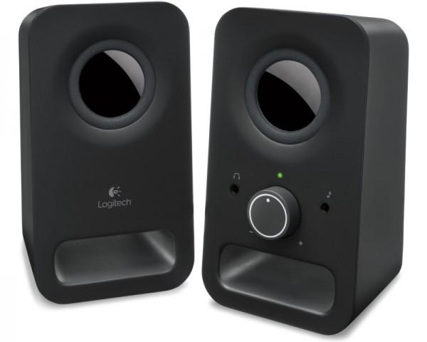LOGITECH Z150 2.0 Multimedia crni zvučnici
