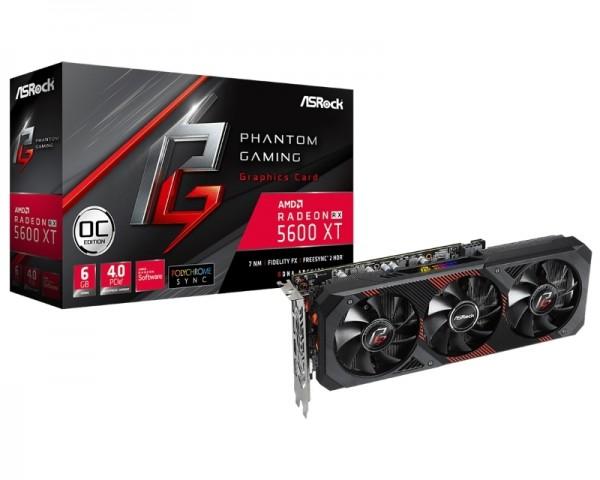 ASROCK AMD Radeon RX 5600 XT 6GB 192bit RX5600XT PGD3 6GO