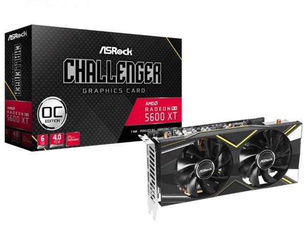 ASROCK AMD Radeon RX 5600 XT 6GB 192bit RX5600XT CLD 6GO