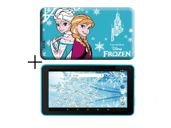 eSTAR Themed Tablet Frozen 7'' ARM A7 QC 1.2GHz1GB8GB0.3MPWiFiAndroid 7.1BlueFrozen Futrola' ( 'ES-TH2-FROZEN-7.1' )