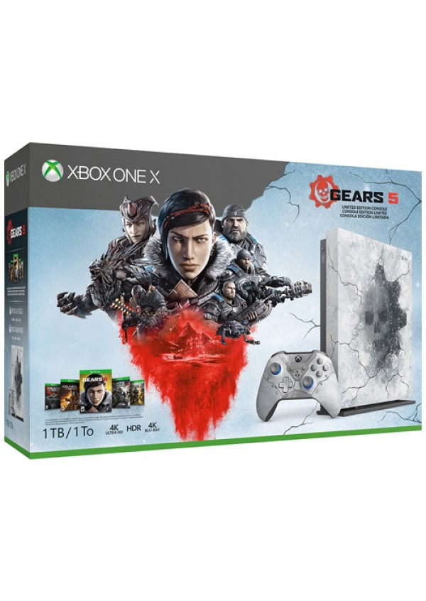 XBOXONE X Console 1TB Gears 5 Ultimate Edition (  )