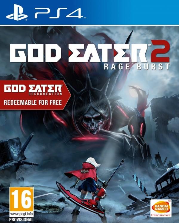 PS4 God Eater Resurrection / God Eater 2 : Rage Burst ( 112223,111979 )