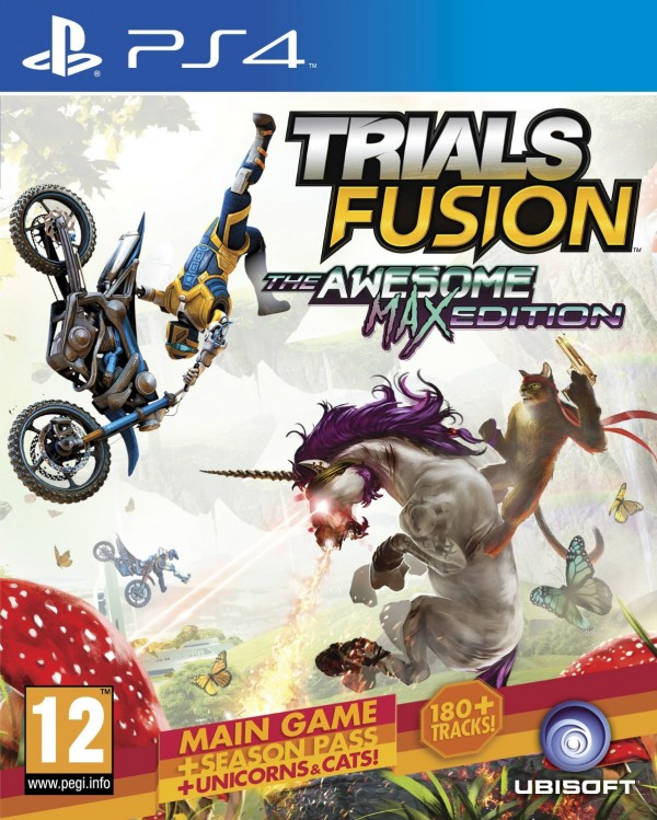 PS4 Trials Fusion The Awesome Max Edition ( PS4X-0128 )