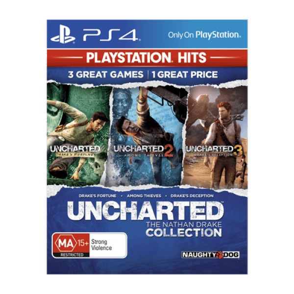 PS4 Uncharted Collection Playstation hits (  )
