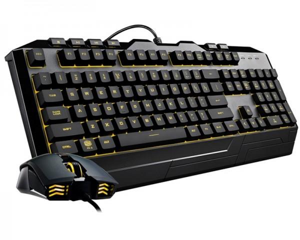 COOLER MASTER CM Devastator 3 Gaming US tastatura + CM USB miš (SGB-3000-KKMF1-US)