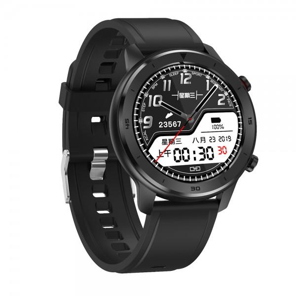Smart Watch DT78 Black Silicone Strap (  )