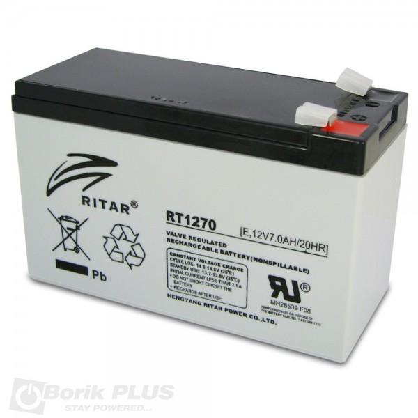 Baterija UPS Ritar RT1270 12V 7Ah