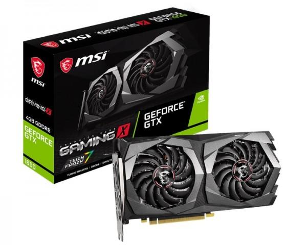 MSI nVidia GeForce GTX 1650 D6 GAMING X 4GB 128bit GTX 1650 D6 GAMING X