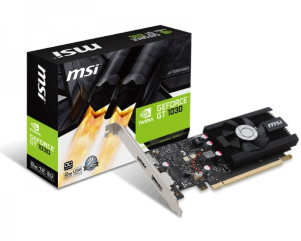 MSI nVidia GeForce GT 1030 2GB 64bit GT 1030 2G LP OC