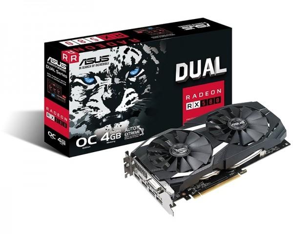 ASUS AMD Radeon RX 580 8GB DUAL-RX580-O8G