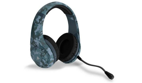 PS4 Camo Edition Stereo Gaming Headset - Midnight (  )