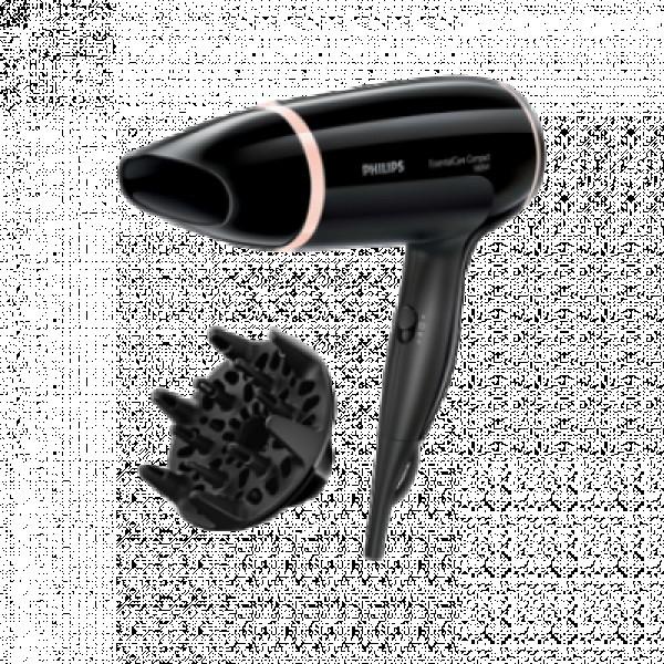 PHILIPS Fen BHD00400 Standardni, Crna, 3, 1800 W