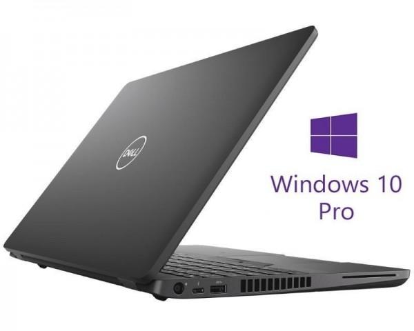 DELL OEM Latitude 5500 15.6'' FHD i5-8265U 8GB 256GB SSD Backlit FP SC YU Keyboard Win10Pro