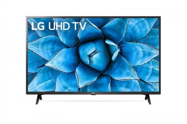 LG 43UN73003LC LED TV 43'' Ultra HD, WebOS ThinQ AI, Rocky Black, Two pole stand, Magic remote' ( '43UN73003LC' )