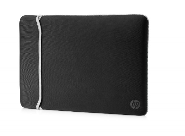 HP 39.62 cm (15.6'') Neoprene Reversible Sleeve (BlackSilver)(2UF62A' ( '2UF62AA' )