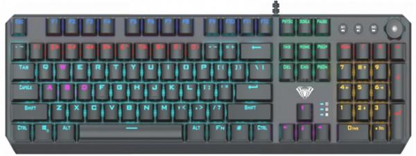 Tastatura AULA F2066-1, mehanička