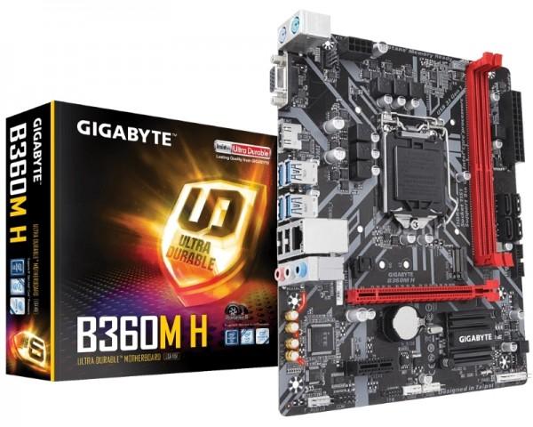 GIGABYTE B360M H rev.1.0