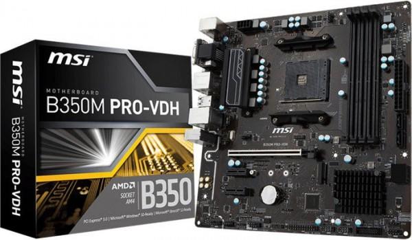 Matična ploča MSI B350M PRO-VDH AM4