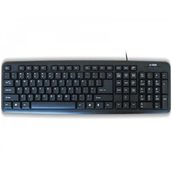 KB E-Tech E-5050 USB Black YU