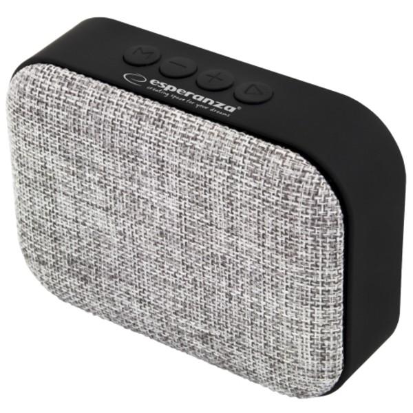 Esperanza ep129e bezicni zvucnik bluetooth fm radio simba sivi