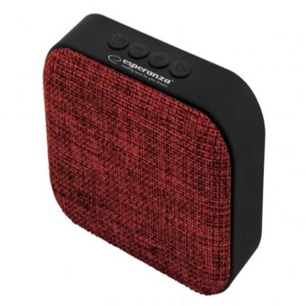 Esperanza ep129r bezicni zvucnik bluetooth fm radio simba crveni