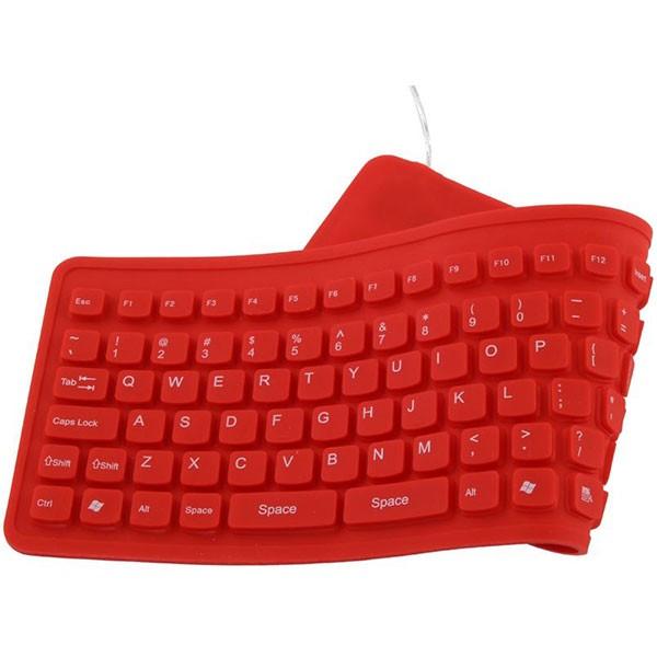 Tastatura Esperanza ek126r tastatura silikonska za tablet i kompjuter crvena