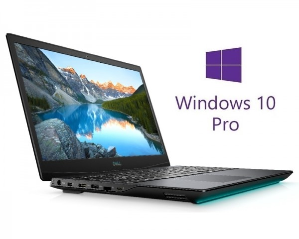 DELL G5 5500 15.6'' FHD i5-10300H 8GB 512GB SSD GeForce GTX 1660Ti 6GB RGB Backlit FP Win10Pro crni 5Y5B