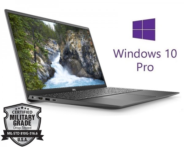 DELL Vostro 5501 15.6'' FHD i5-1035G1 4GB 256GB SSD GeForce MX330 2GB Backlit Win10Pro sivi 5Y5B