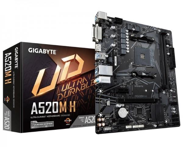 GIGABYTE A520M H rev. 1.0