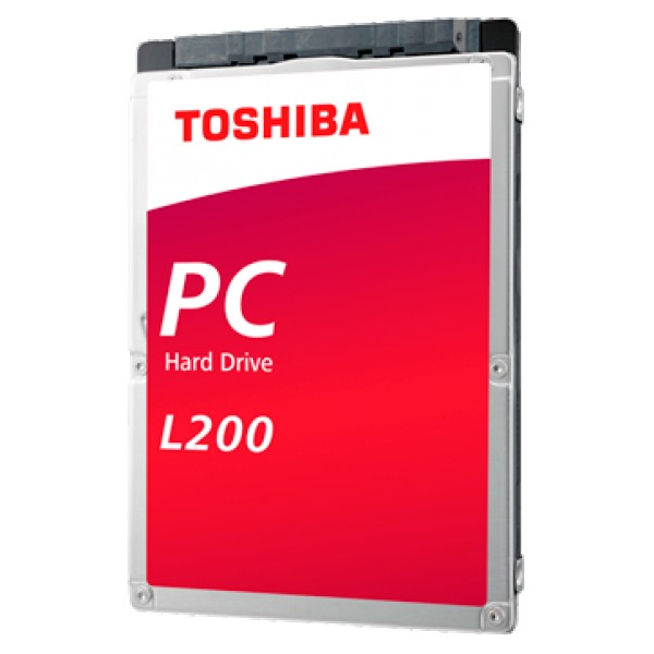 TOSHIBA HDD mobile L200-1TB-54RPM-128MB-SATA-2.5''-7mm ( HDWL110UZSVA )