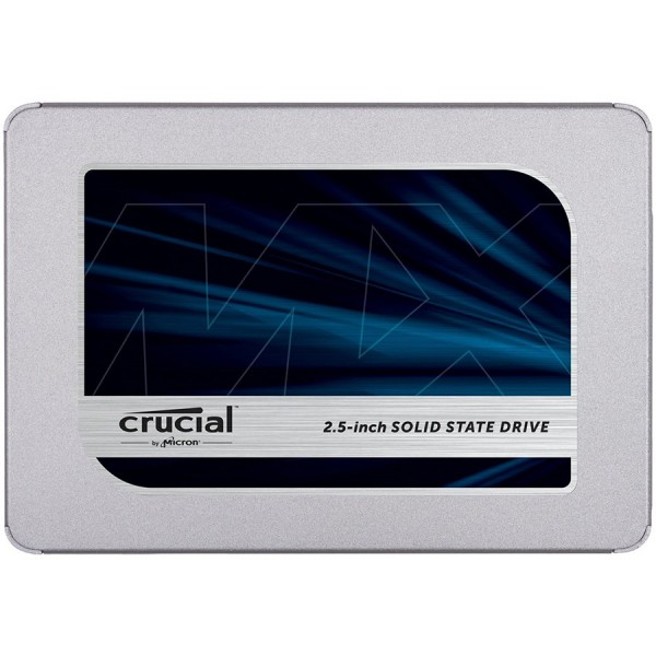 CRUCIAL MX500 2TB SSD, 2.5 7mm, SATA 6 Gbs, ReadWrite: 560510 MBs, Random ReadWrite IOPS 95k90k, with 9.5mm adapter ( CT2000MX500SSD1 )