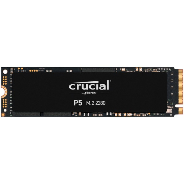 Crucial SSD 500GB P5 M.2 NVMe PCIEx4 80mm Micron 3D NAND  34003000 MBs, 5yrs, 7mm ( CT500P5SSD8 )