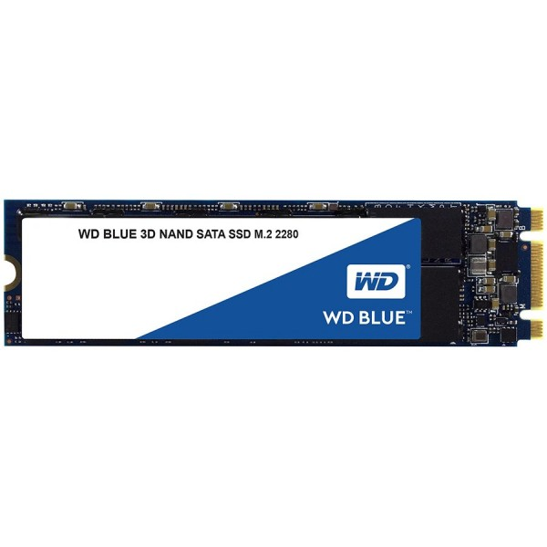 SSD WD Blue (M.2, 250GB, SATA III 6 Gbs, 3D NAND ReadWrite: 550  525 MBsec, Random ReadWrite IOPS 95K81K) ( WDS250G2B0B )