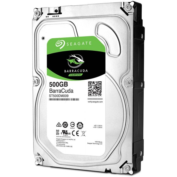 SEAGATE HDD Desktop Barracuda 35 Guardian (3.5''500GBSATA 6Gbsrmp 7200) ( ST500DM009 )